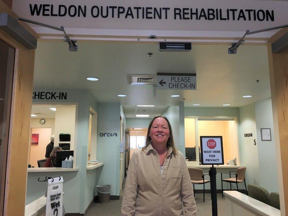 Hand therapist often finds sportsinjured patients on her