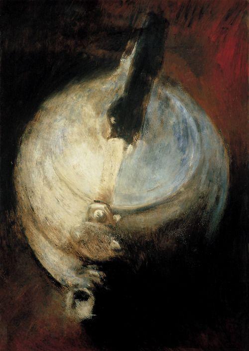 """Pintura a óleo sobre tela de Andres Carrara:  """"OggettiI"""" (1996)"""