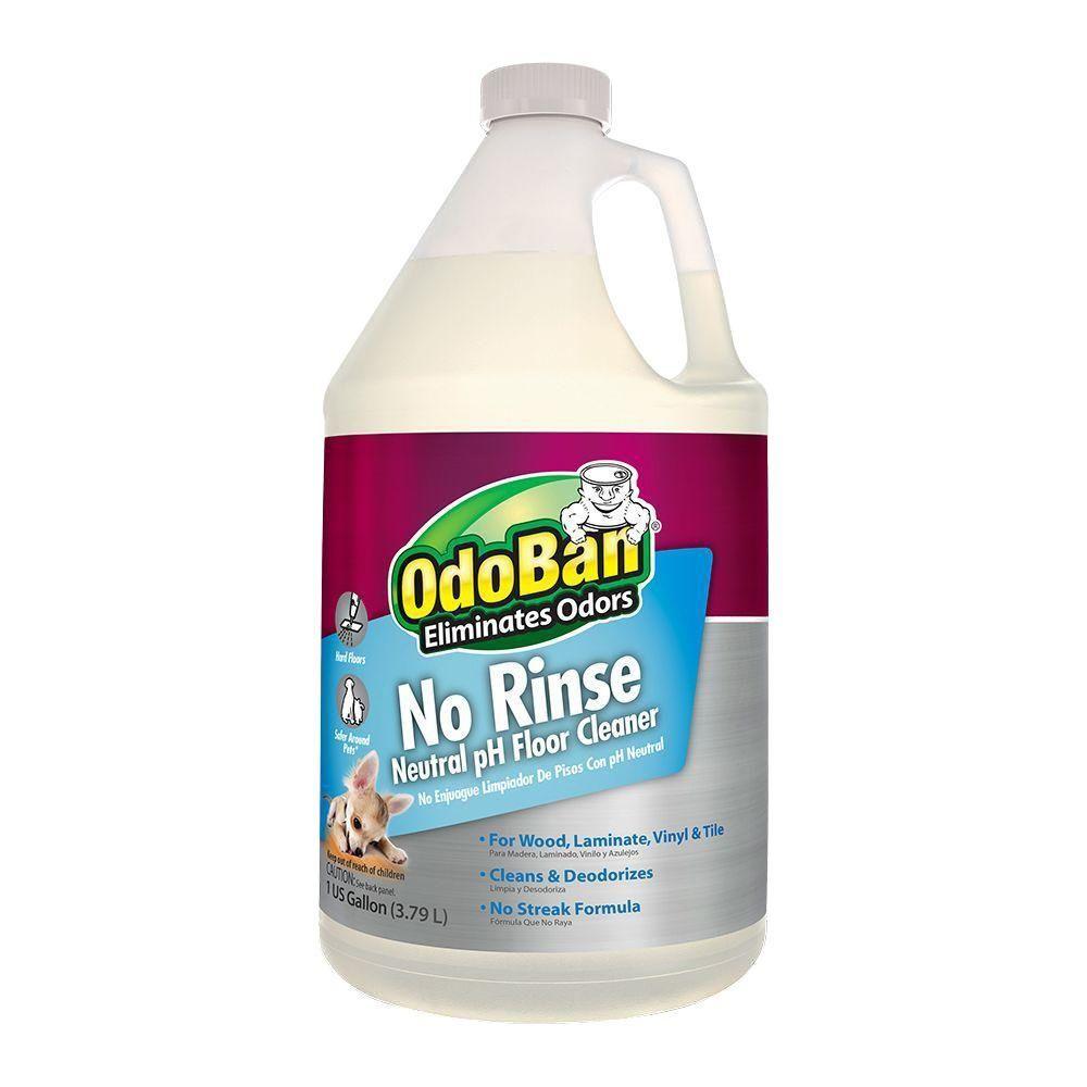 OdoBan, 128 oz. NoRinse Neutral pH Floor Cleaner, 9361B61