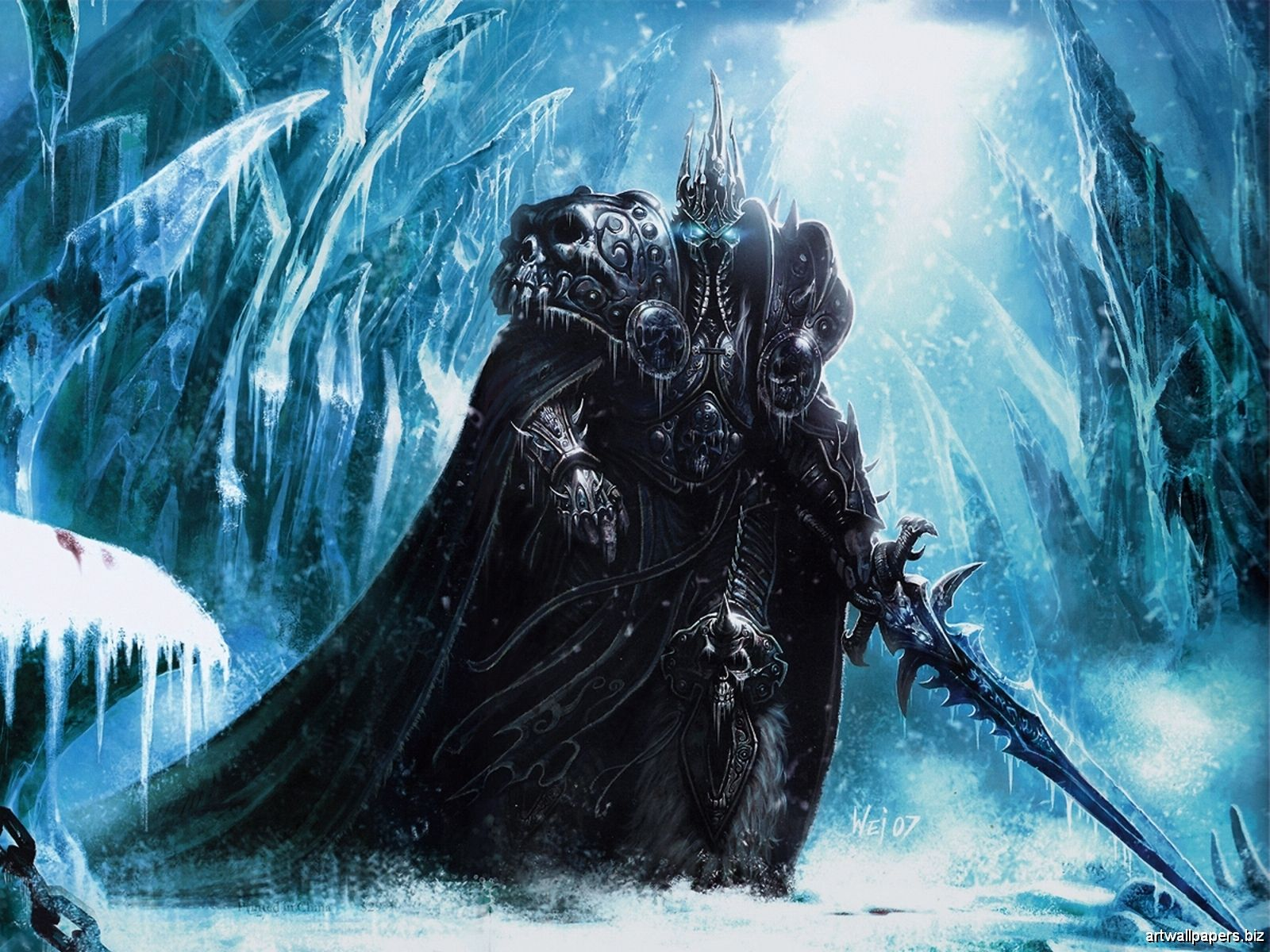The King Of The Frozen Throne Best Video Game Ever Pinterest
