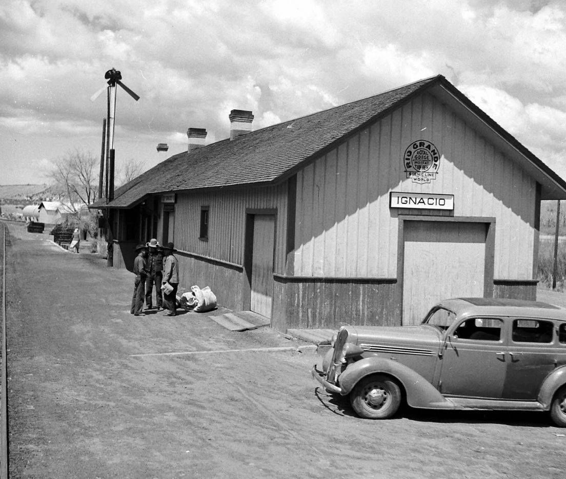 Ignacio's Railroad Station, La Plata County, Colorado