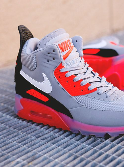 NIKE Air Max 90 Sneakerboot  Infrared  via eukicks Buy it   Nike US ... cf7adcf252165