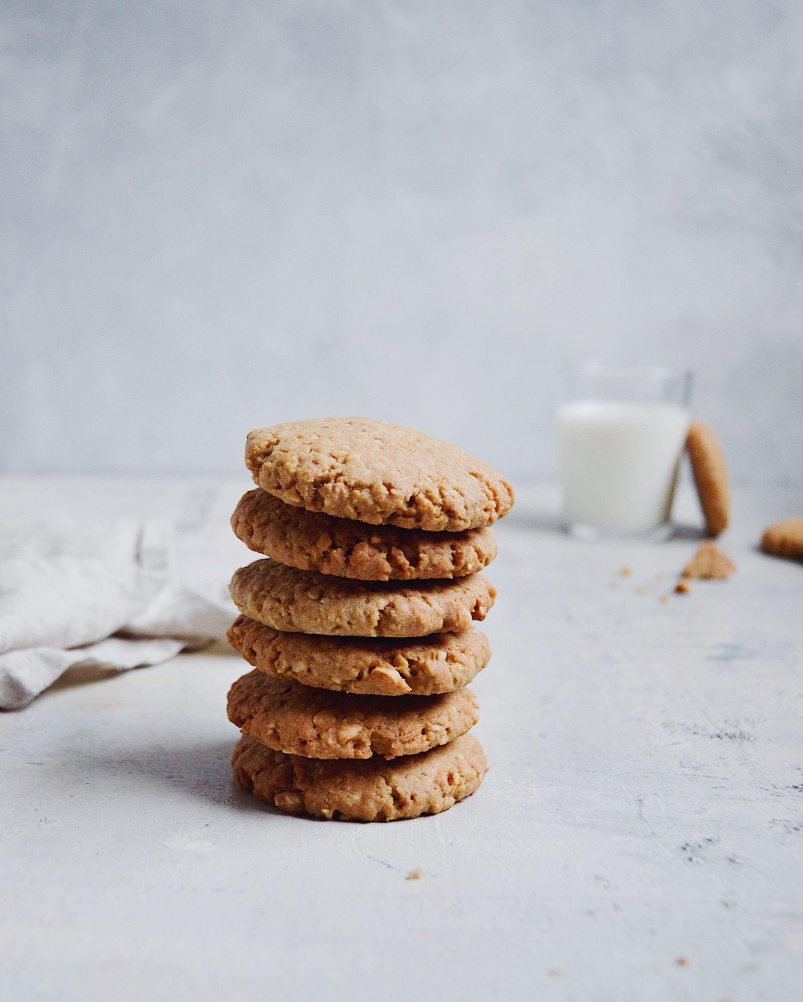 Småkager med mandler og kokos - julesmåkager - Grødgrisen #vaniljekranseopskrift