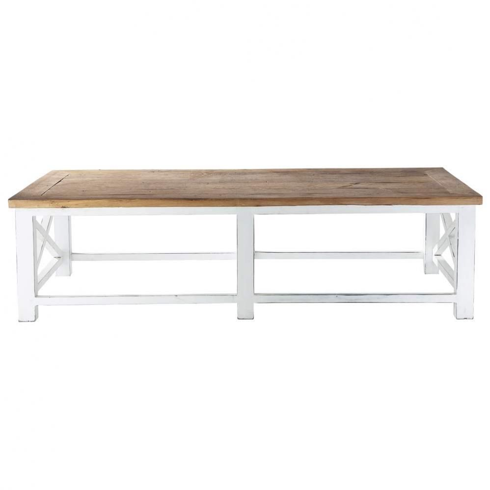 Couchtisch Aus Recyclingholz B 160 Cm Sologne Maisons Du Monde Coffee Table Wood Recycled Wood Reclaimed Wood Coffee Table