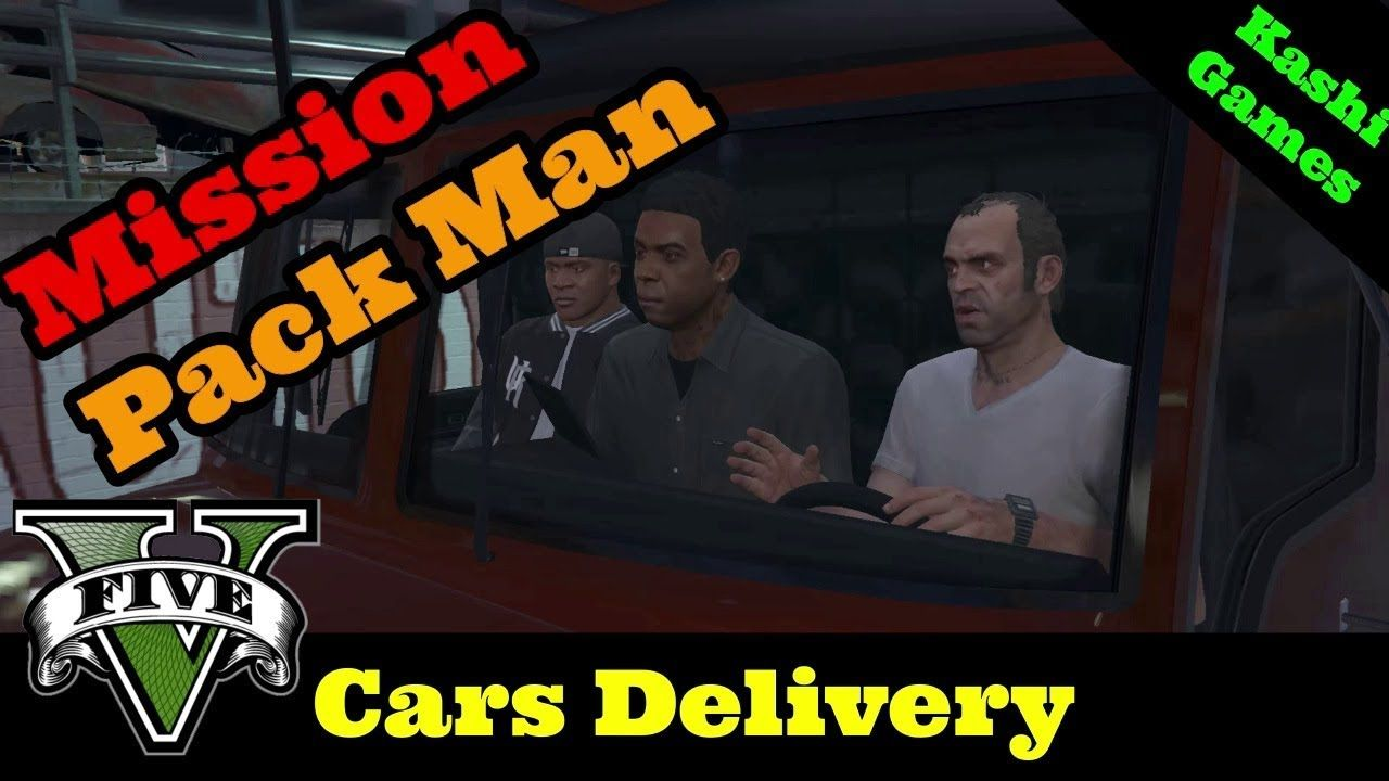 GTA 5 Mission #58 Pack Man 100% Gold Medal Walkthrough Kashi Games