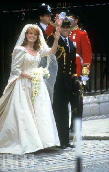 Sarah Ferguson Marries Prince Andrew