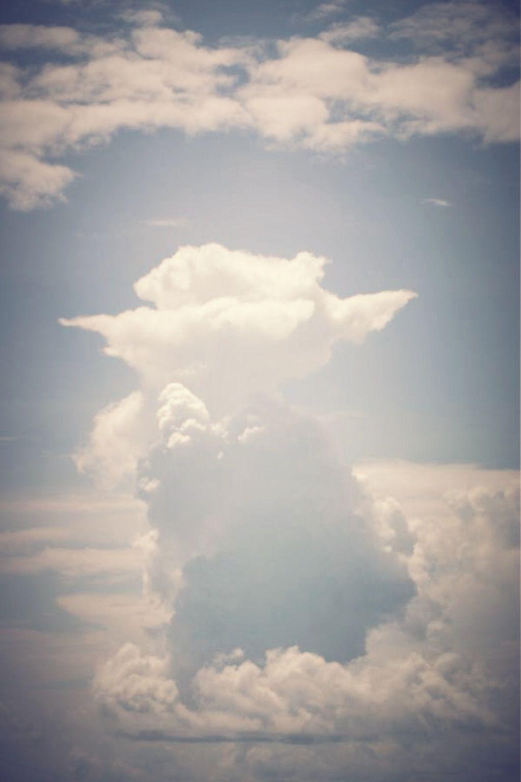 Yoda in the sky!