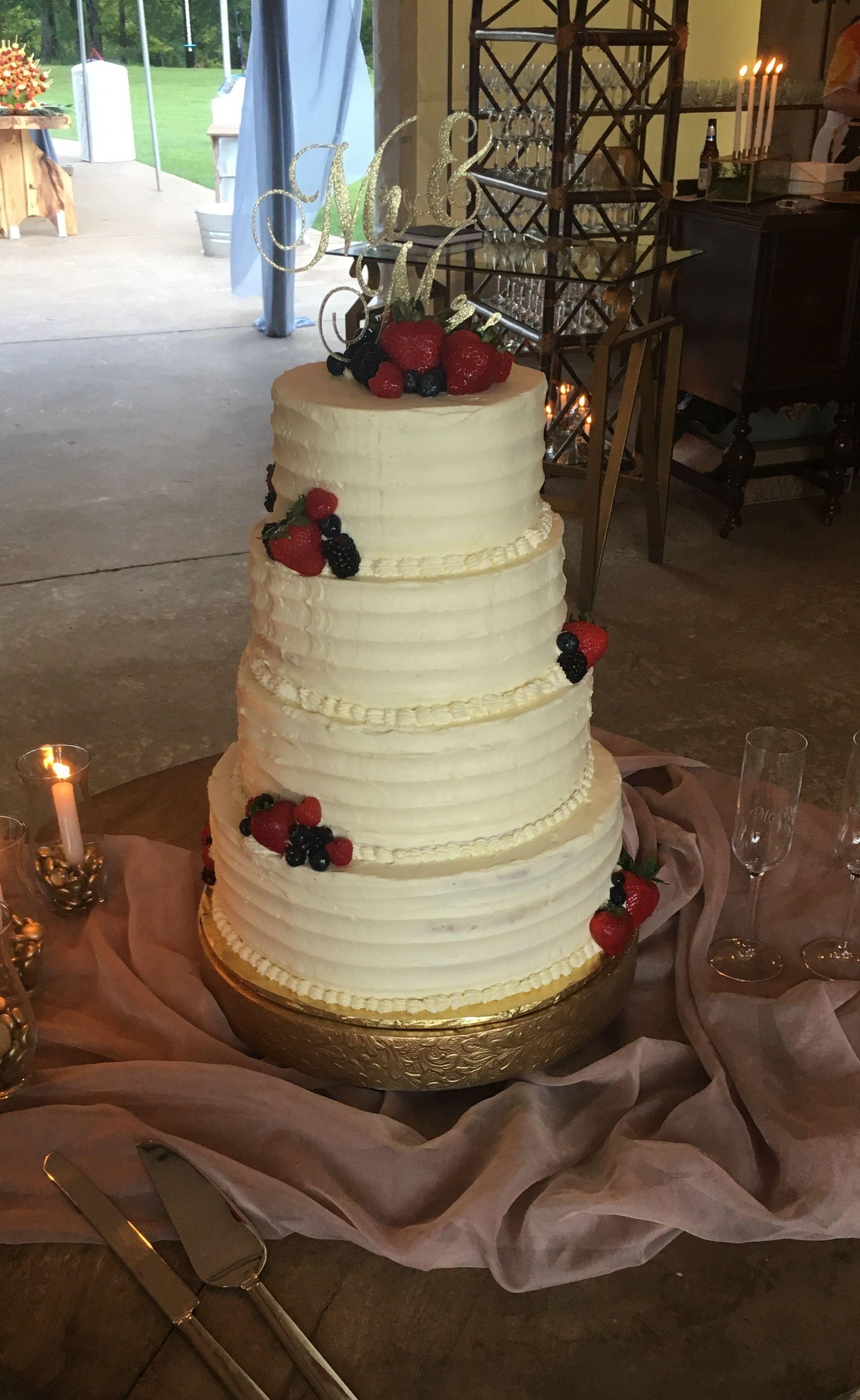 Berry chantilly wedding cake wedding cakes berry