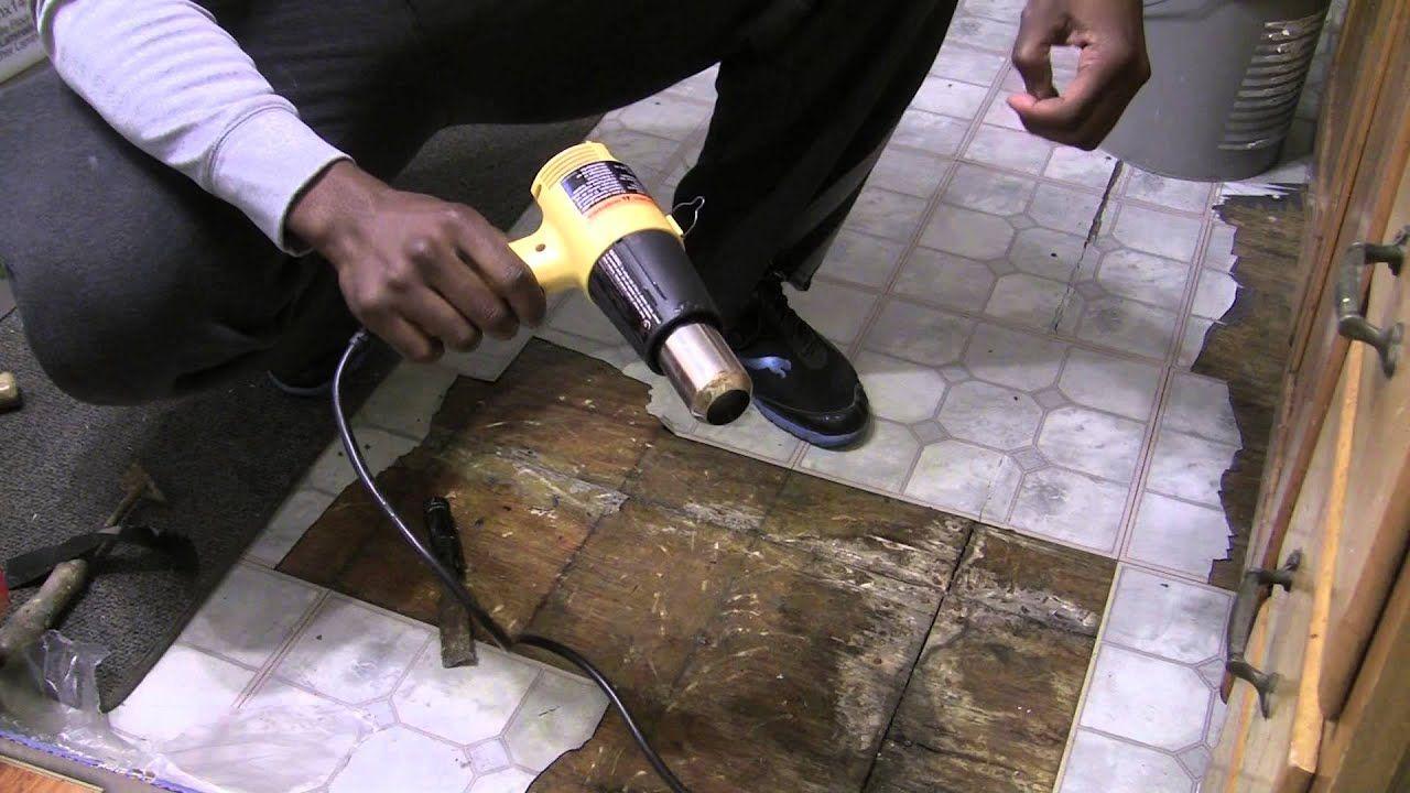 How to remove vinyl sticky tiles Sticky tile, Sticky