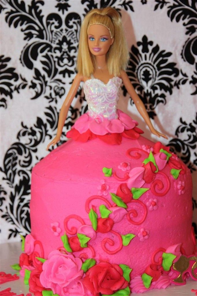 Barbie Party Cake From Target