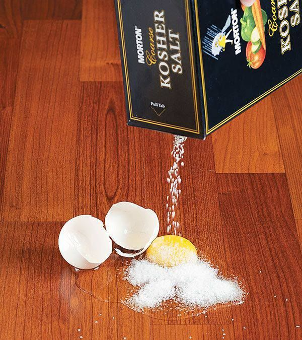 Kitchen Tip If you've ever dropped an egg onto the