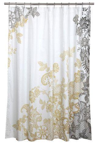 Blissliving Home Evita Shower Curtain Luxury Shower Curtain