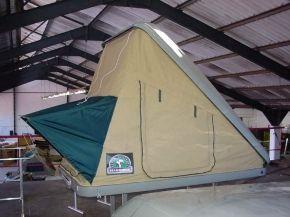Nene Overland The Impi tent is an aerodynamic fibreglass resin