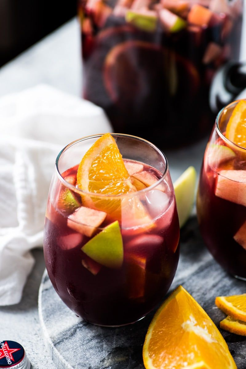 Easy Sangria Recipe Isabel Eats Easy Mexican Recipes Recipe Sangria Recipes Easy Sangria Recipes Red Sangria Recipes