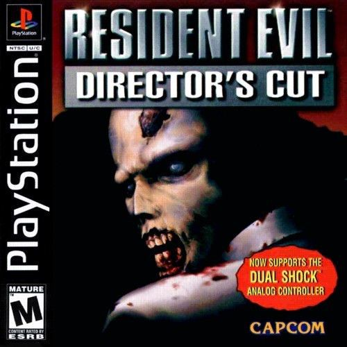 Resident Evil Director's Cut (PlayStation 1, PS1, PS2, PS3, 1998)  #Playstation #PSone #PS1 #Retrogames #Videogames