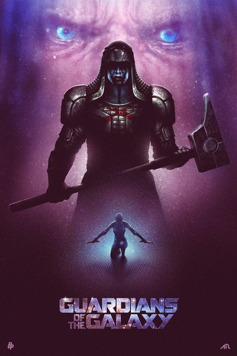 "Adam Rabalais' ""Guardians of the Galaxy"" Minimalist Poster"