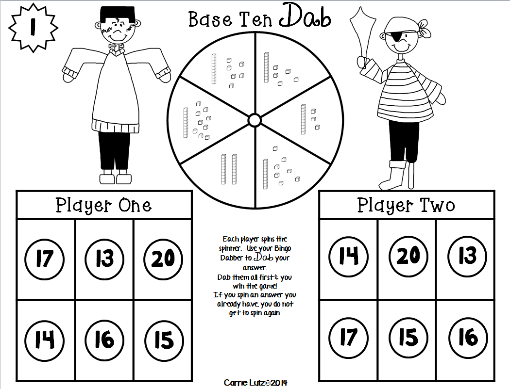 Halloween Place Value Games No Prep