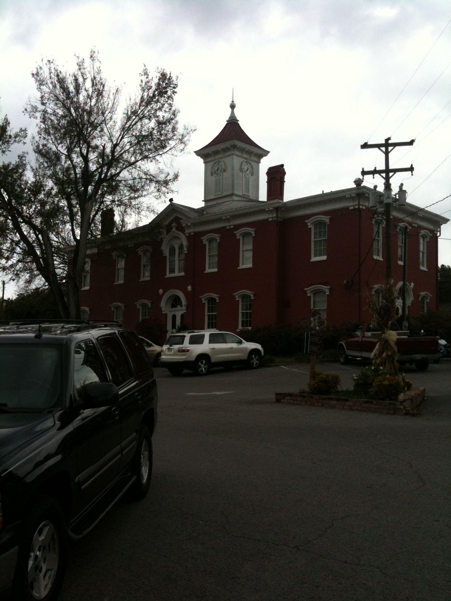 The square in Lynchburg TN