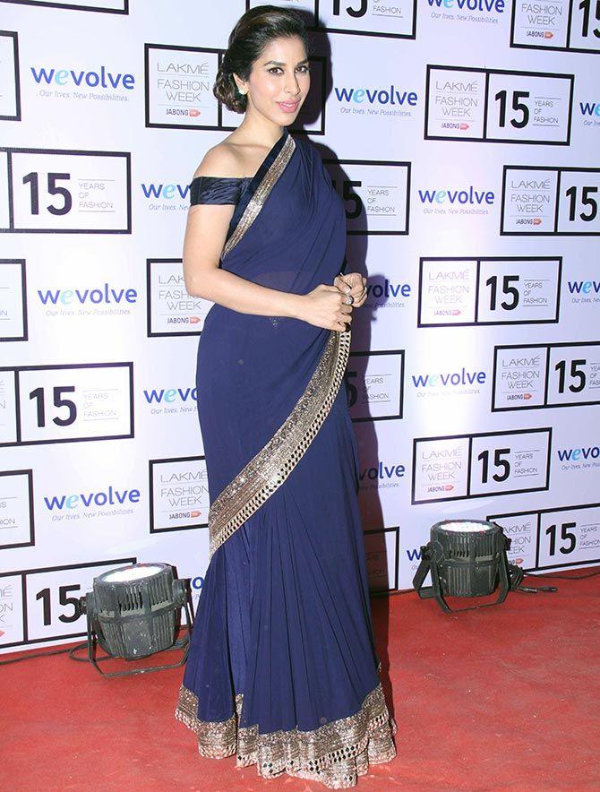 Feeling blue? | Bollywood dress, Saree designs, Saree