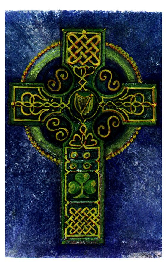 Celtic Tree Of Life Painting by Sean Seal   Celtic Fine Art Prints