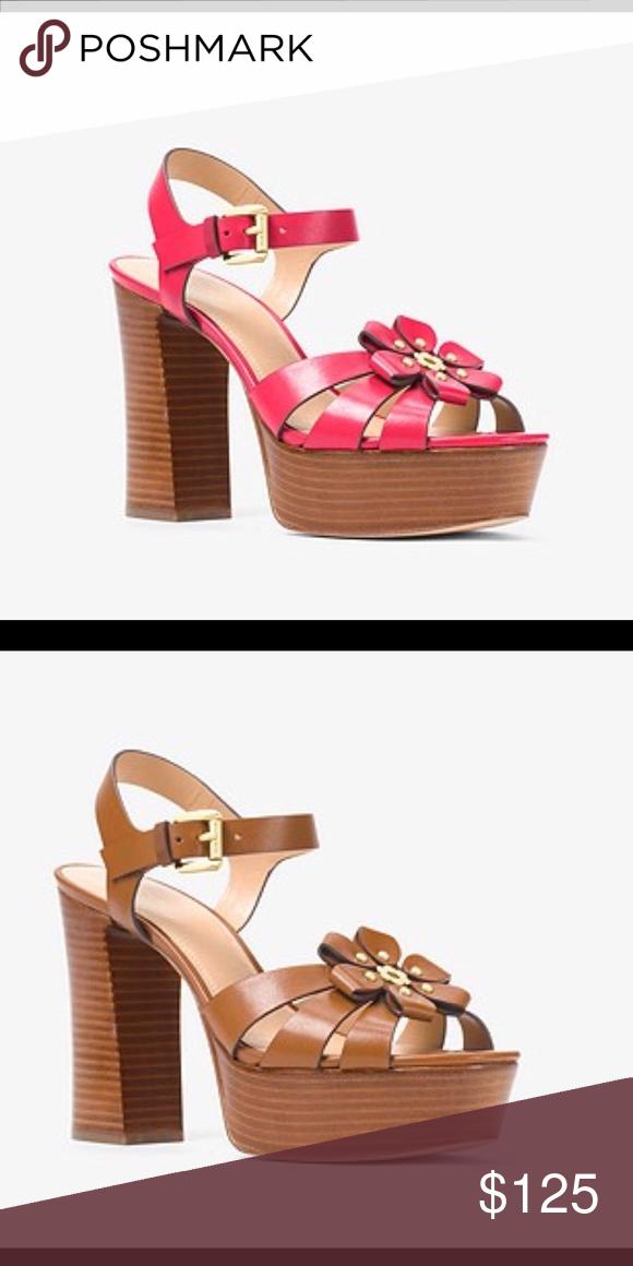 adbb47fa3ca Michael Michael Kors Tara Floral Sandal Michael Michael Kors Tara Floral  Embellished Platform Sandal (Pink   Not Available!) MICHAEL Michael Kors  Shoes ...