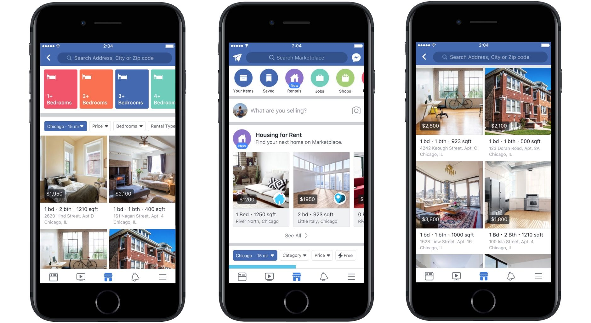 Facebook Marketplace can help you find a new place to rent ...