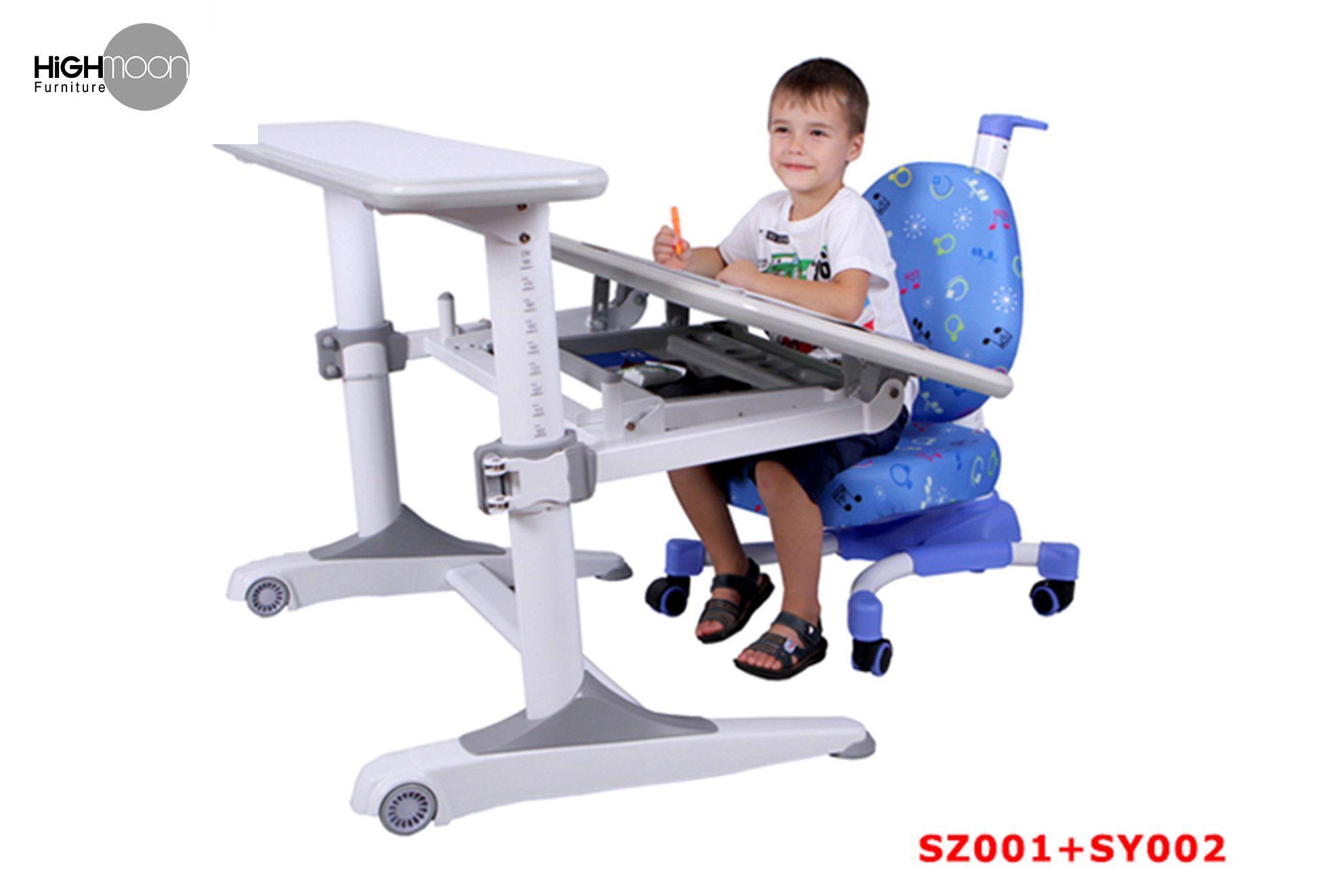 Ergonomic kids study tables and chairs kids study