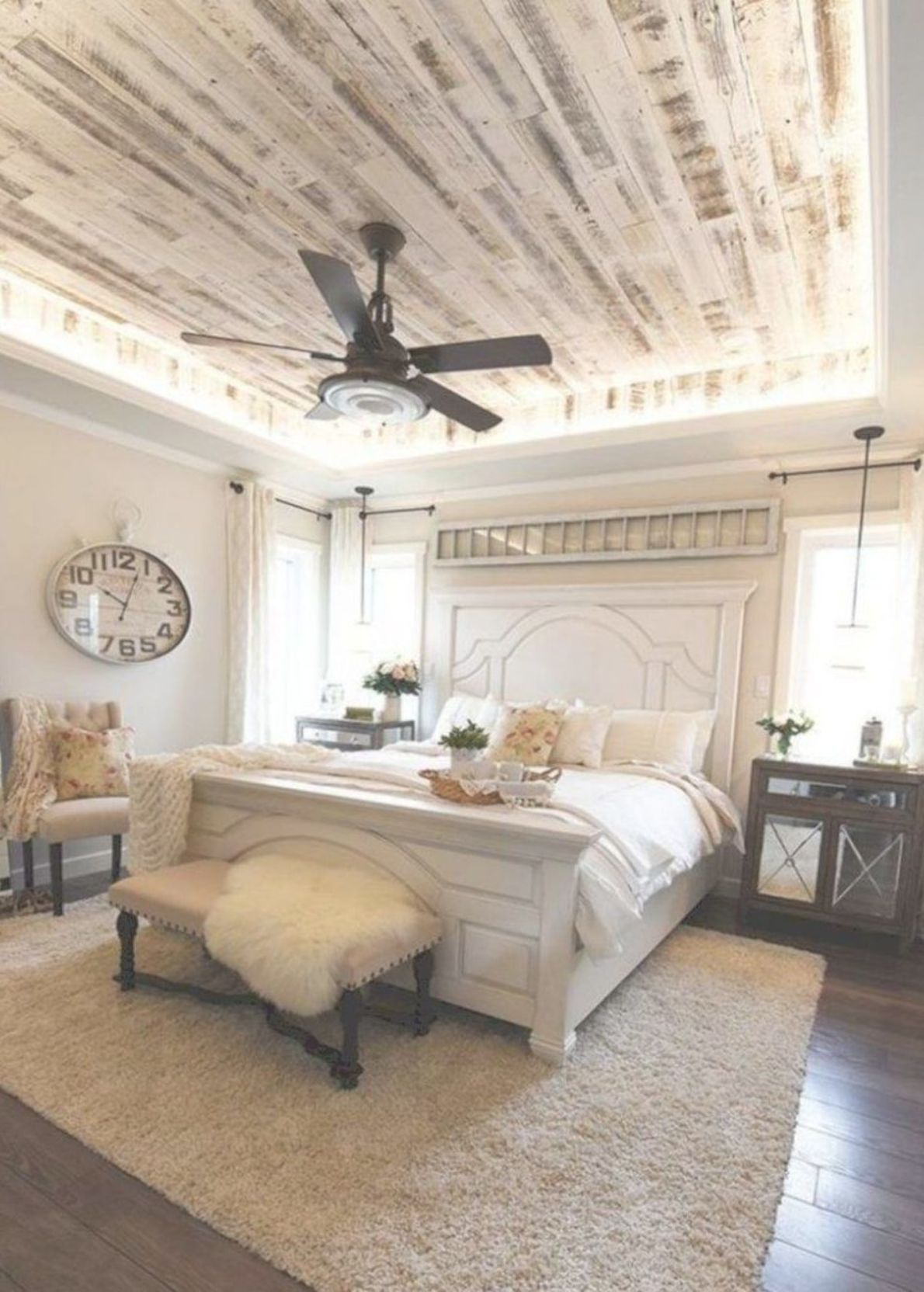 20 Pretty Farmhouse Master Bedroom Ideas To Try Asap In 2020