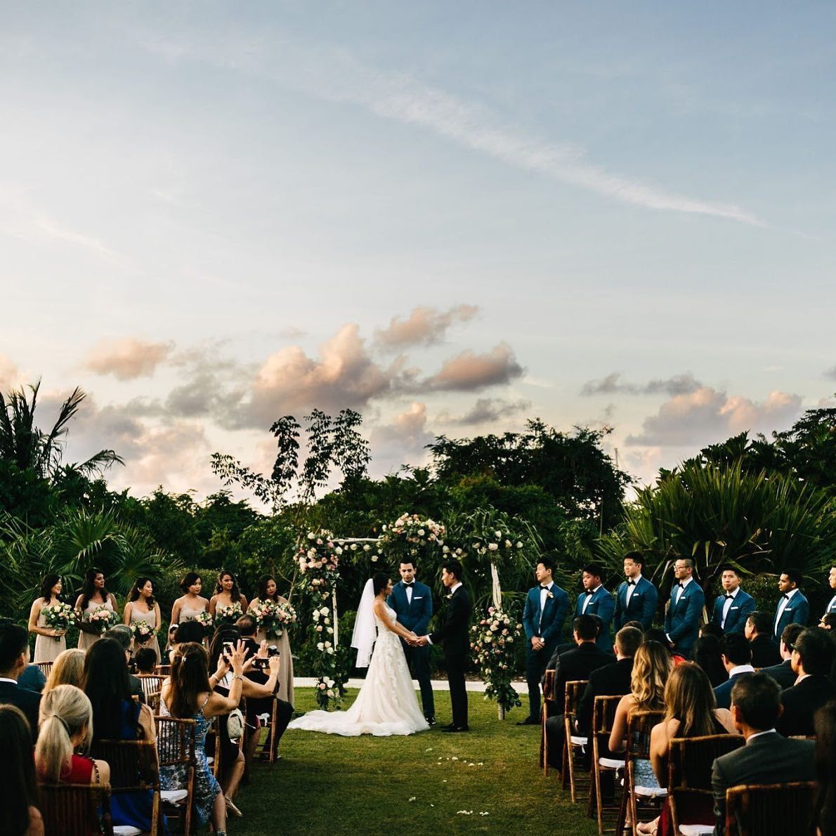 Elegant Nassau Bahamas Garden Wedding In 2020 Bahamas Wedding Nassau Bahamas Bahamas Wedding Venues