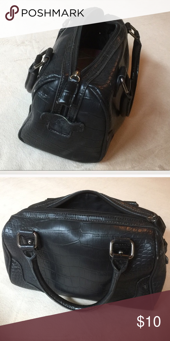 Wilson's leather small black bag Wilson's leather small