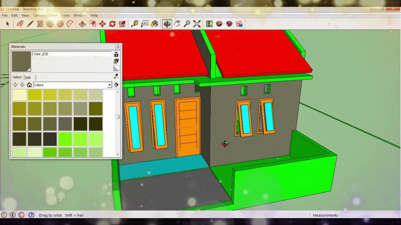 cara import gambar autocad ke sketchup | autocad tutorial | autocad