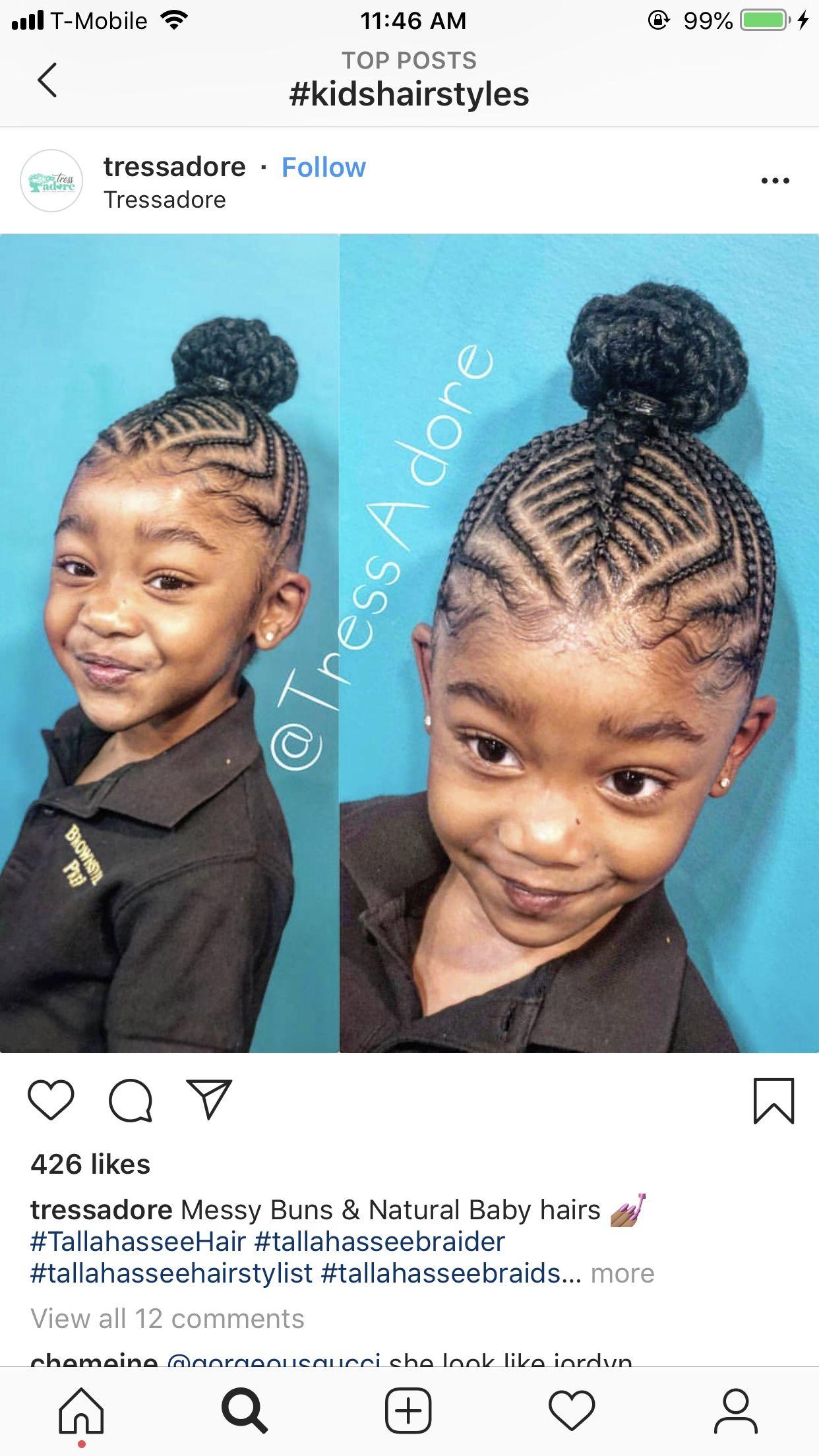 Braid Style For Kids Black Kids Hairstyles Kid Braid Styles