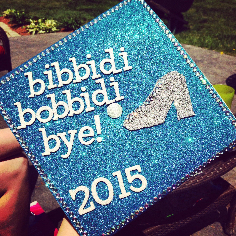 My Disney Cinderella Themed Graduation Cap Had So Much