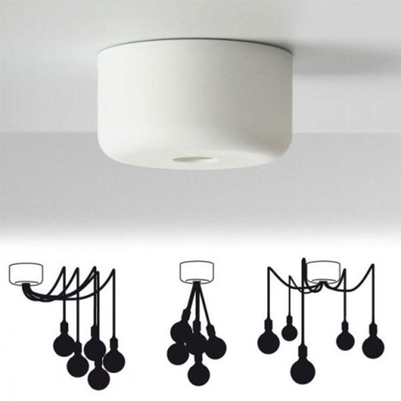 e27 multi canopy plafondbevestiging muuto hanglampen verlichting producten livingdesign