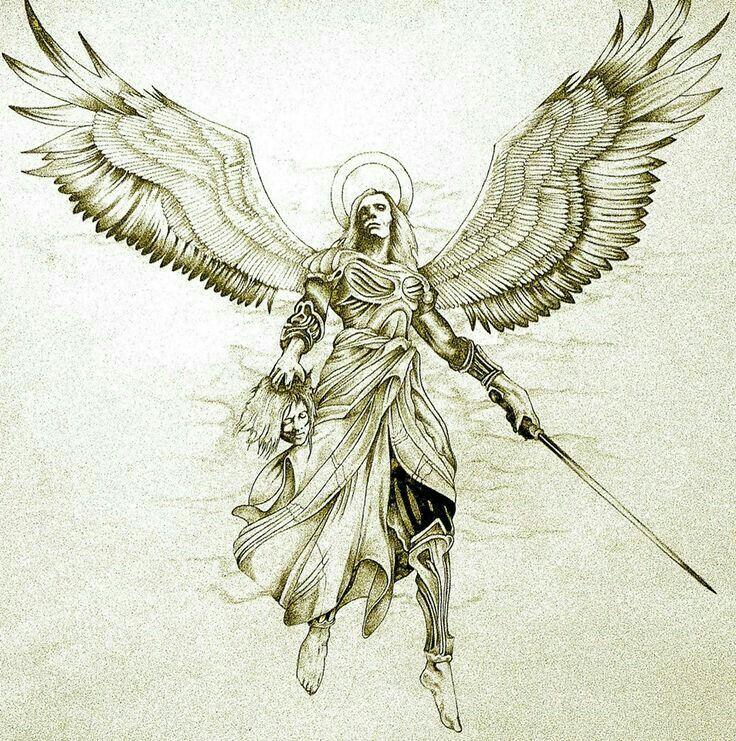 Эскиз ангел картинки