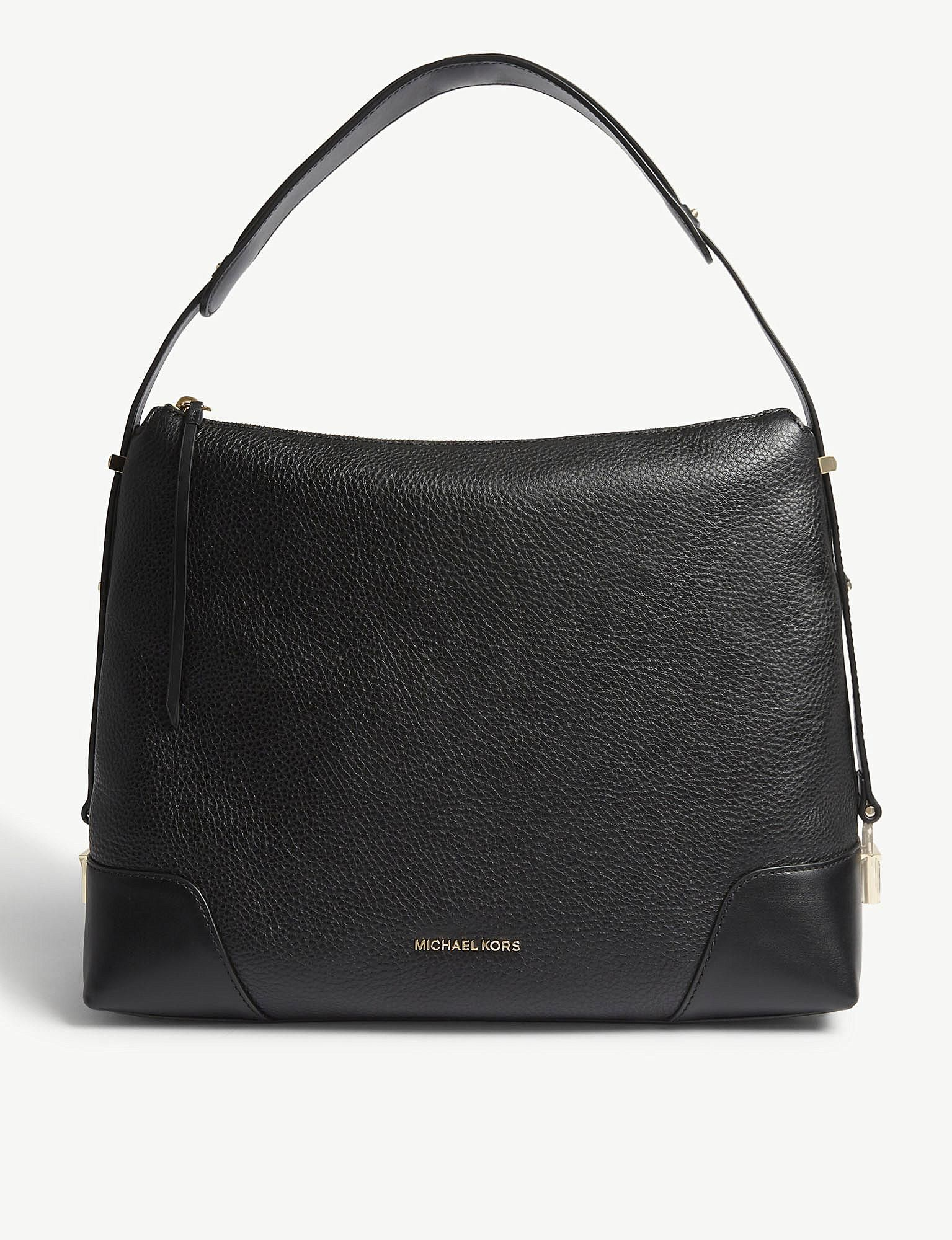 Women's Black Crosby Leather Shoulder Bag in 2019 | Leather