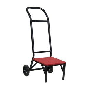 Banquet Chair Stack Chair Dolly By Flash 95 54 27 5 D From Front To Wheel Carpeted Platform Protects Chairs And Ad Flash Furniture Chair Furniture Dolly