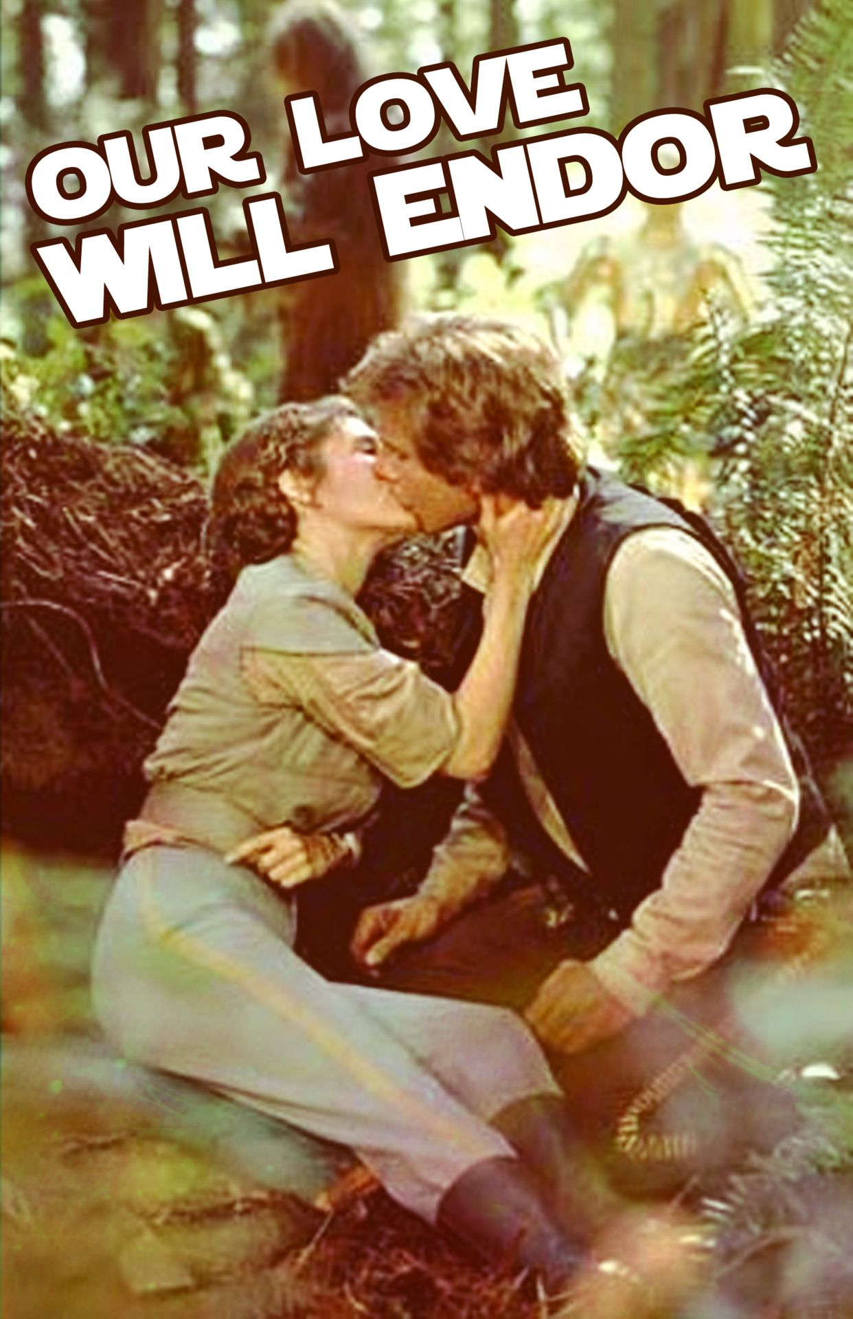 Princess Leia and Han Solo #StarWars I don't know what I love more here: the Star Wars or the clever play on words haha. This would be a PERFECT valentine for me.