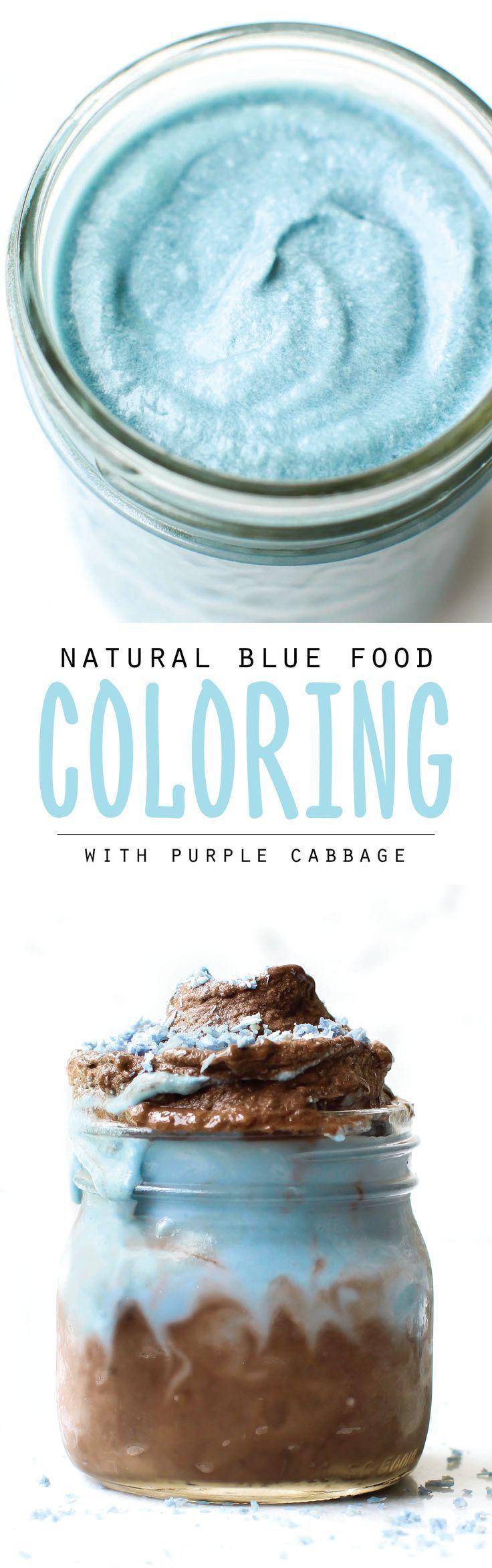 Chocolate Coconut Blue Swirl Jar   Recipe   Vegan Recipes ...
