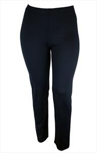 CASHMI FULL LENGTH SPORT TROUSERS in BLACK