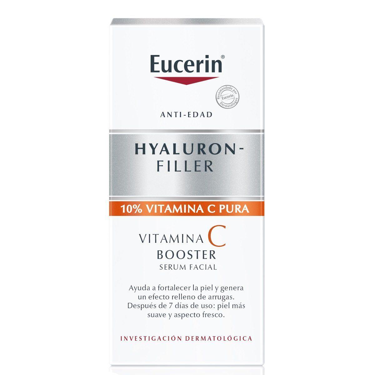 Eucerin Hyaluron Filler Vitamin C Derma Express Mx Consejos Para La Piel Rutinas De Belleza Cremas Faciales
