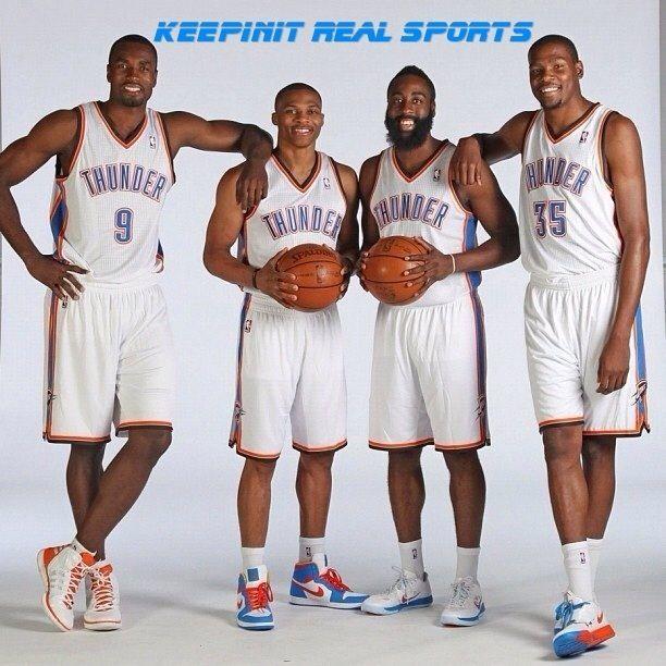 Pin By Kayla Shaday On Basketball Oklahoma City Thunder Basketball Oklahoma City Thunder Thunder Nba