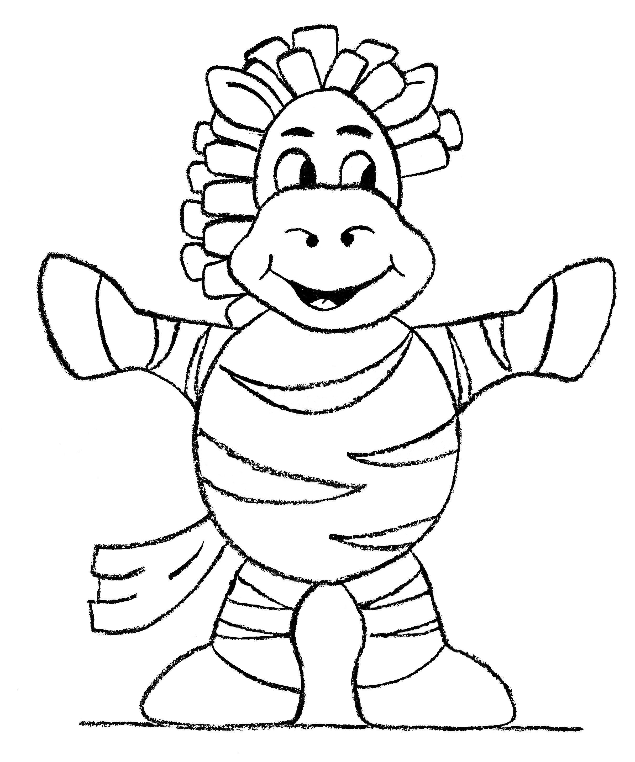 Anansi The Spider Coloring Pages