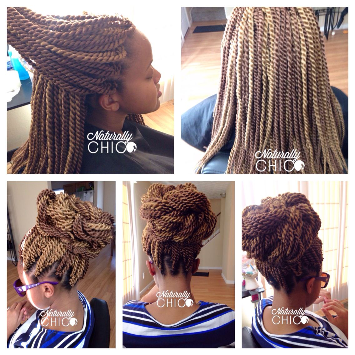 Crochet Senegalese Twist Protective Styles For Natural