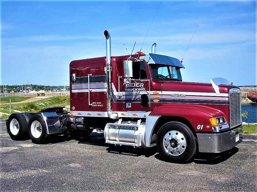Millions Of Semi Trucks Freightliner Trucks Freightliner Trucks