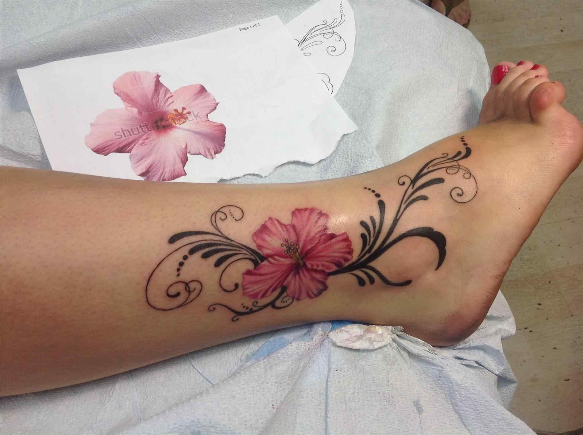 A Symbol Of Strength And New Beginnings U The Floral Ankle Tattoo