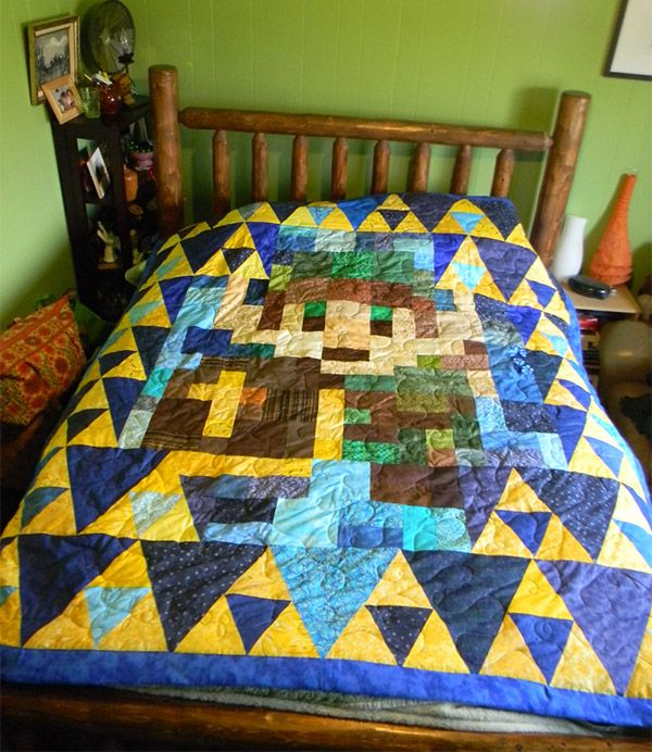 Zelda quilt punk room pinterest for Decoration zelda