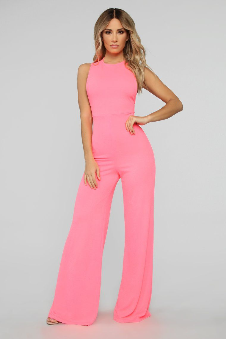 Woman Sleeveless Wide Leg Jumpsuit Solid Color Front Cross Hollow out Romper