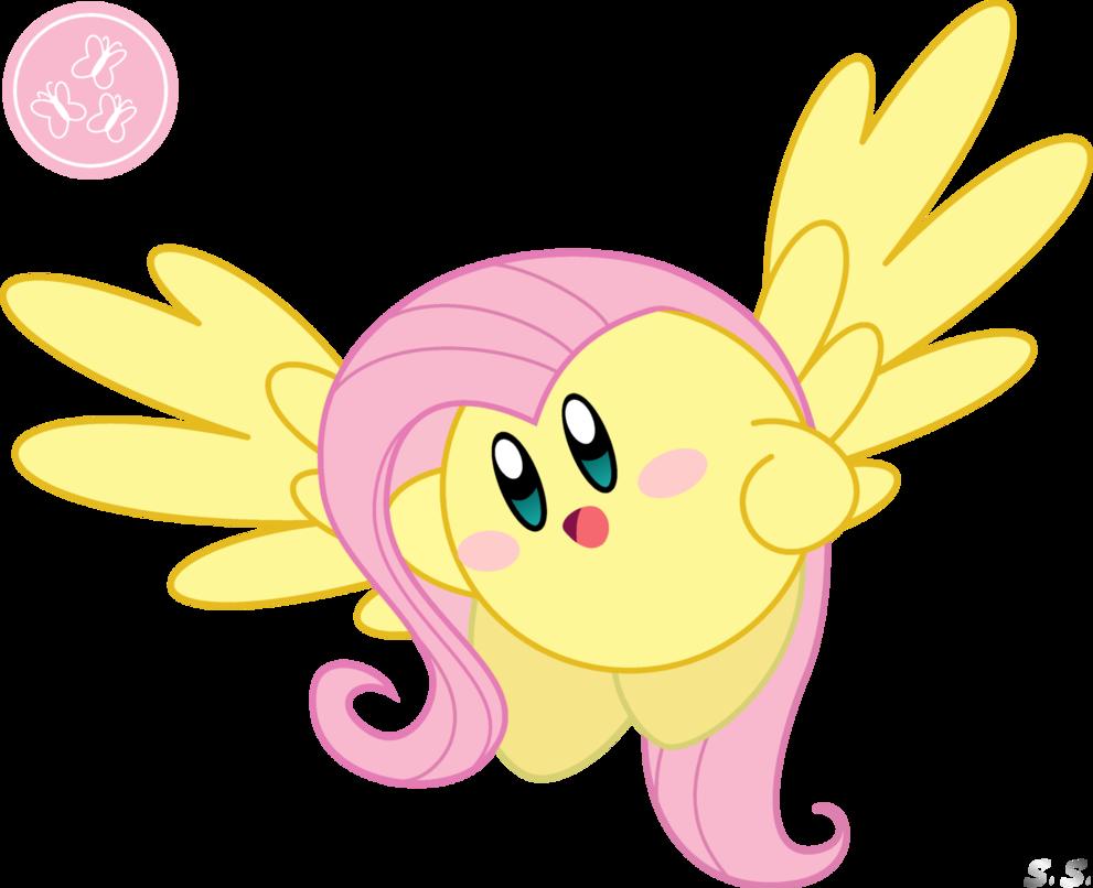 Fluttershy | Kirby Fluttershy by silver-soldier on ...