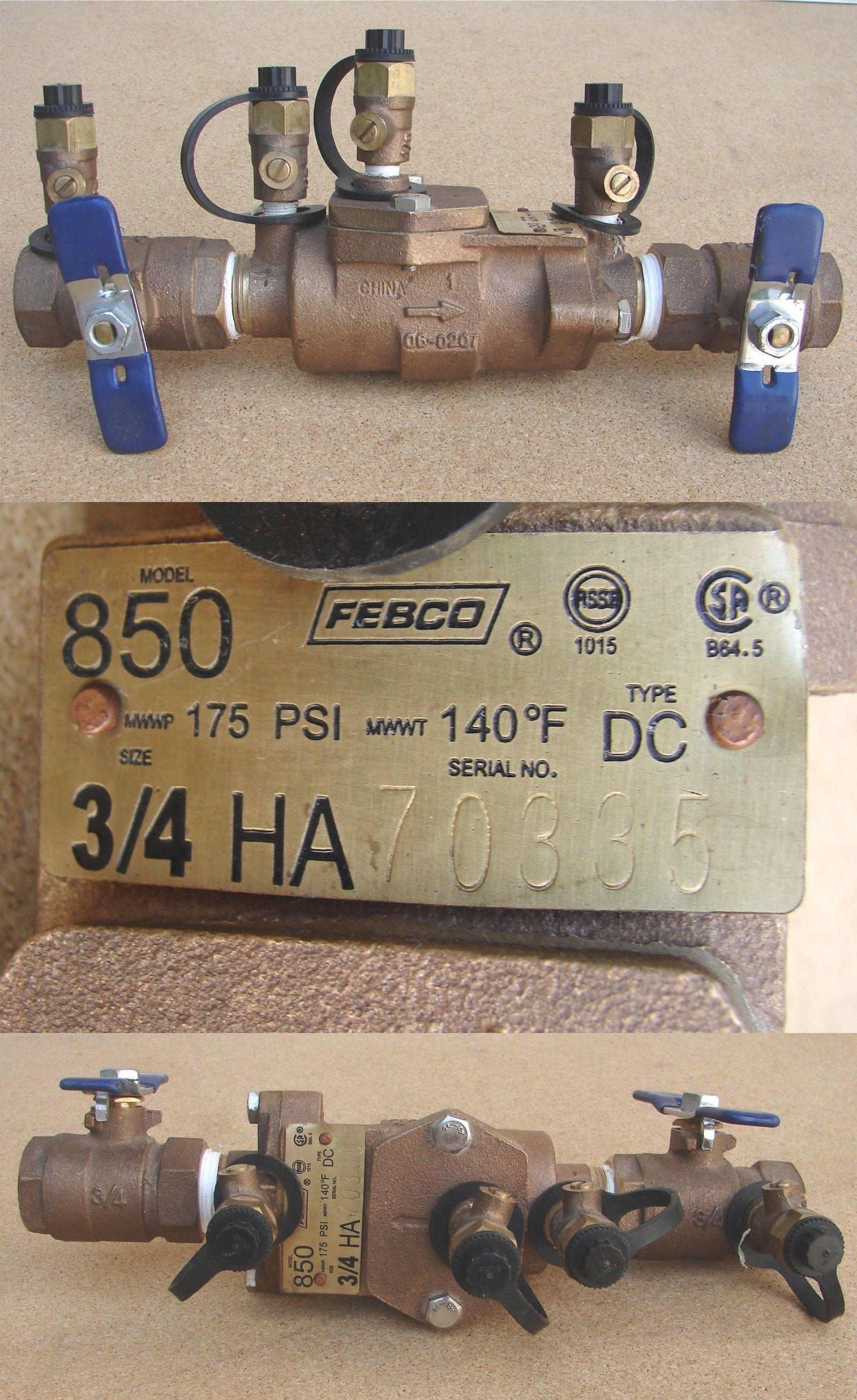 Valves 75673: Febco 3 4 Valve Assembly - #850 (Bronze Body) -> BUY